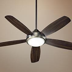 """$348 Lamps Plus  Antique Silver Finish Colton 52"""" Ceiling Fan"""