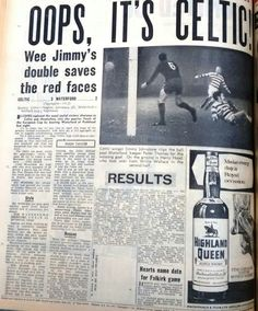 Celtic  Rangers  In Sept  At Parkhead Newspaper Report On