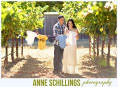 Maternity portraits by Anne Schillings Photography. Pregnant photo field truck vintage retro country vineyard boy baby girl grapevines clothesline clothes sign cute pretty beautiful red blue tan cream dress maxi jean denim jacket shoes boot john deere tractor couple love hug pose belly tummy stomach    https://www.facebook.com/anneschillingsphotography