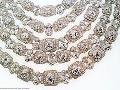 Greville 5-Strand Diamond Necklace ♕ Queen Elizabeth II Lifetime loan to Camilla, Princess of Wales, Duchess of Cornwall