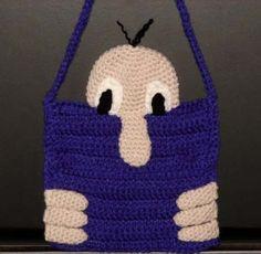 Kilroy Klutch Purse - free crochet pattern