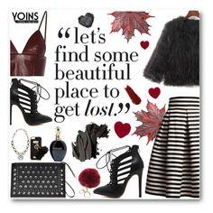 """Yoins 9/5"" by tijana-djekic ❤ liked on Polyvore featuring Rumour London, Black Rivet, T By Alexander Wang, NARS Cosmetics, River Island, Roberto Cavalli, Bobbi Brown Cosmetics, women's clothing, women's fashion and women"
