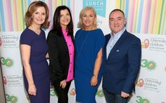 LIZ AND NOEL'S LUNCH FOR BABY HEARTS IN UKRAINE - RSA chief Liz O'Donnell and Noel Kelly MD of NK Management and CMS Marketing hosted an annual fundraiser for Adi Roche's Chernobyl Children International Liz …
