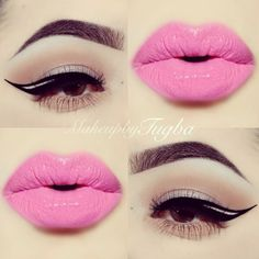 How can ones eyeliner be so on point??