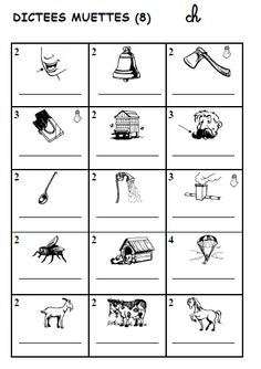 FICHES SONS/DICTEES MUETTES French Teaching Resources, Teaching French, Teaching Tools, Ontario Curriculum, French Education, Core French, Cycle 2, French Immersion