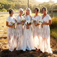 With Love - Inca gown by Grace Loves Lace Grace Loves Lace, Lace Bridesmaid Dresses, Wedding Bridesmaids, Bohemian Bridesmaid, Lavender Bridesmaid, Junior Bridesmaids, Bridesmaid Outfit, Boho Wedding Dress, Wedding Gowns
