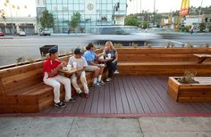 Diy Kits To Help Build Your Own Mini-park Anywhere There Is Space On The Street