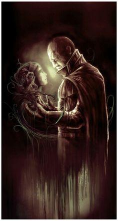 Darth Vader (Anakin Skywalker) & Padmé