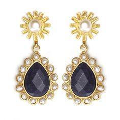 SHOP HERE!  Tiklari Gizem Earrings  Shop for more fashion jewelry @ www.tiklari.com  $54