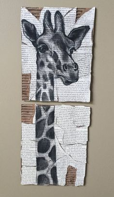 Giraffe by ThingsByJie on Etsy
