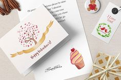Valentine's Watercolor Pack http://www.templatemonster.com/blog/watercolor-freebies/