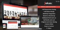 This Deals Jekas - Responsive And Retina HTML5 Templatelowest price for you. In addition you can compare price with another store and read helpful reviews. Buy