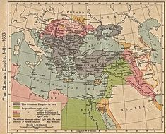 Maps of Israel, Jordan and Palestine