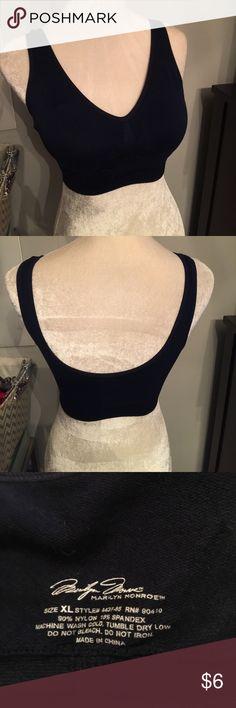 🆕Marilyn Monroe Bra NWOT Padded cups, never worn - navy blue Marilyn Monroe Intimates & Sleepwear Bras