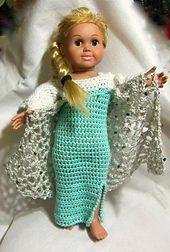 Ravelry: American Girl Elsa Dress pattern by Danielle Dominguez