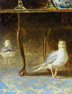 JAMIE WYETH Gulls of Monhegan, #2 (1992)