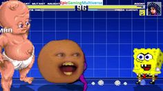 Annoying Orange And Infant Mutant Naughty Baby VS Agony & SpongeBob SquarePants In A MUGEN Match This video showcases Gameplay of SpongeBob SquarePants And Agony The Symbiote VS Infant Mutant Naughty Baby And The Annoying Orange In A MUGEN Match / Battle / Fight