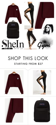 """""""Shein"""" by miranda-993 ❤ liked on Polyvore featuring JanSport"""