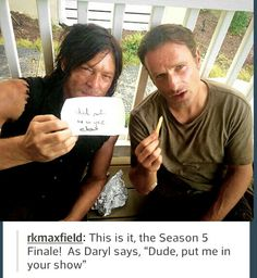 Andy and Norman