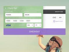 - Checkout Form designed by Eynav Raphael. Daily Ui, Form Design, My Portfolio, Coding, Programming