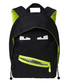 0a93164e0bfb Black Grillz Junior Backpack by ZIPIT®