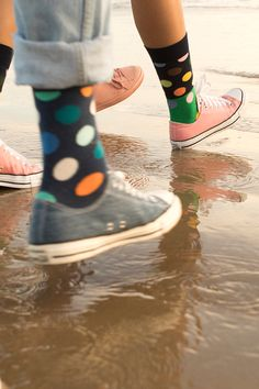 Our Big Dot Block socks starts of… Rubber Shoes, Rubber Rain Boots, Women's Socks, Colorful Socks, Happy Socks, Dots, Spring Summer, Big, Collection