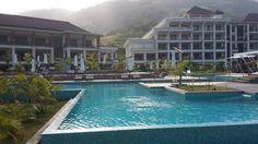 Infinity Pool - The Savoy Hotel, Mahe Island, Seychelles.