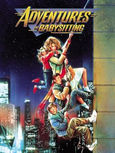 Adventures In Babysitting on DVD from Disney / Buena Vista. Directed by Chris Columbus. Staring Anthony Rapp, Keith Coogan, Maia Brewton and Elisabeth Shue. More Comedy, Coming-Of-Age and Movies DVDs available @ DVD Empire. Elisabeth Shue, Love Movie, Movie Tv, 80s Movie Posters, Classic Movie Posters, Movie List, Darling Movie, Old Film Posters, Vintage Movies