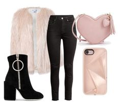 """""""Untitled #9"""" by fodornikolett on Polyvore featuring Sans Souci, Off-White and Rebecca Minkoff"""