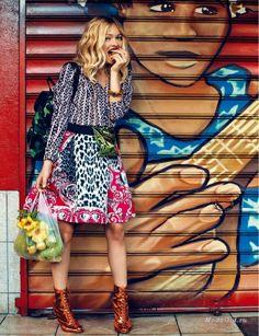 Модные новости: Фотосессии для модного глянца: август-сентябрь 2014