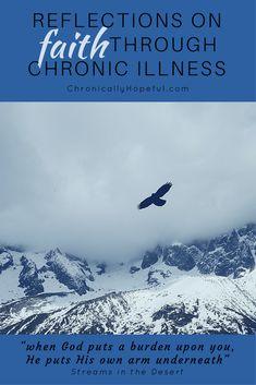 Reflections on faith through chronic illness