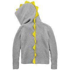 Stella McCartney Kids - Full zip ribbed cotton knit hoodie - 70504