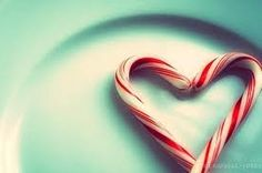 I never noticed you can make candy canes into a heart