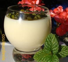 Glass Of Milk, Mousse, Panna Cotta, Veggies, Food And Drink, Gluten Free, Dishes, Cooking, Healthy