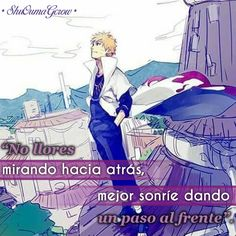 No llores #ShuOumaGcrow #Anime #Frases_anime #frases