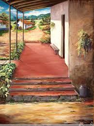 paisajes tipicos en acrilico pinturas - Buscar con Google