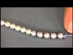 Katie Hacker makes stretchy bracelets on Beads, Baubles & Jewels #1812-3