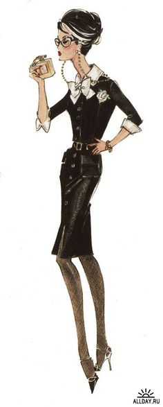 Barbie designer and fashion illustrator - Robert Best