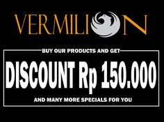 Hello fellas Vermilion premium handmade leather shoe give you something special. GET DISCOUNT Rp 150.000 Not just discount, we give you too free shipping all around indonesia, guarantee sole for 6 months This promo valid till 6 july 2016