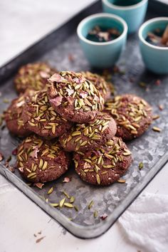 Dani Venn creates a gorgeous vegan cookie that is gluten, dairy and refined sugar free