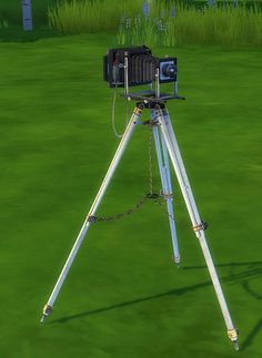 Sims 4 CC's - The Best: 2 to 4 Antique Camera by Haggy