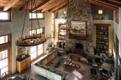 Adding loft spaces into massive great rooms can freshen the space and add intimacy—though owners warn of noises and curious visitors.