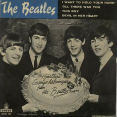 The Beatles : Photo pochette du disque I Want To Hold Your Hand