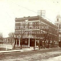 The Elks Hall on Lake Street.  The site is now the Elks parking lot.