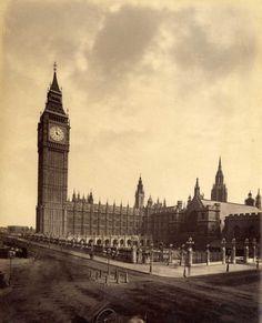 London, General view, Circa 1880.