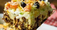 Cheesy Taco Casserole