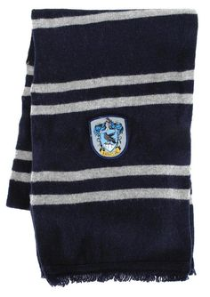 Take a look at this Harry Potter Ravenclaw House Wool Scarf today! Harry Potter Scarf, Harry Potter Shop, Harry Potter Cosplay, Woolen Scarves, Wool Scarf, Ravenclaw Scarf, The Big Hero, What Do You Mean, Hat And Scarf Sets