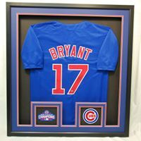 24641b7c7a5b4 Chicago Cubs Kris Bryant Framed Jersey