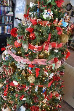 Christmas tree, vint