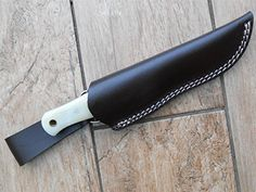 Leather Bushcraft 'Dangler' Style Sheath for Bushcraft Style Knives or Moras ** Read more at the affiliate link Amazon.com on image.